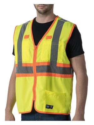 Walls Men's ANSI II Premium Safety Vest W38230