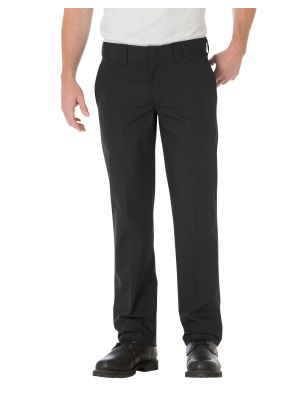 Dickies Slim Straight Fit Poplin Work Pant WP805 Black (BK)