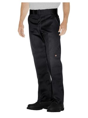 Dickies Relaxed Straight Fit Double Knee Pant WP852 Black (BK)