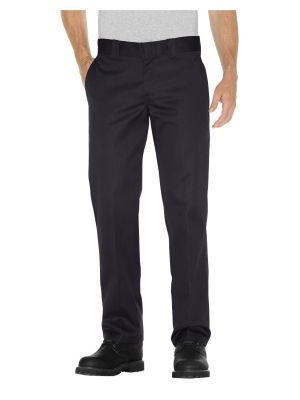 Dickies Slim Fit Straight Leg Work Pant WP873 Black (BK)