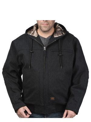 Walls Men's Workwear Muscle Back™ Hooded Jacket with Kevlar® YJ524