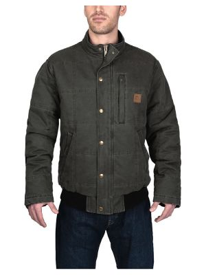 Walls Men's Driftwood Vintage Quilted Jacket YJ825