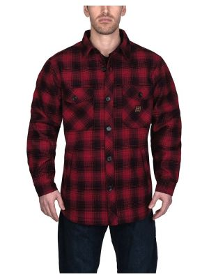 Walls Men's Weldon Vintage Plaid Bonded Jac Shirt YJ830