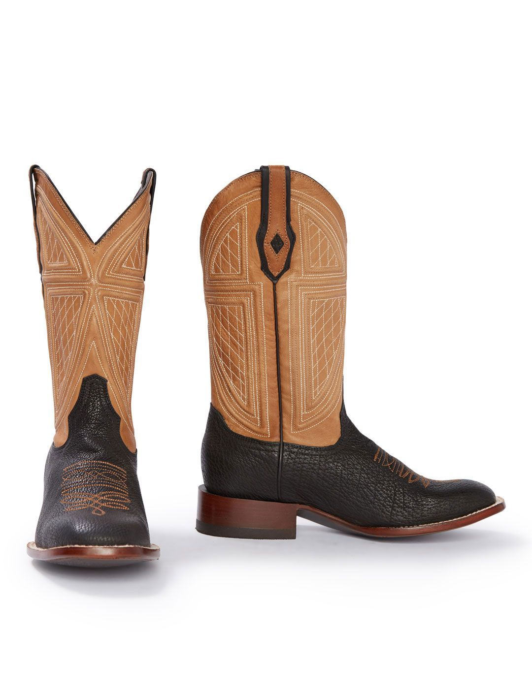 e1d64886fef Stetson Men s Billings Black Shark Cowboy Boot 12-020-1852-0360. Details