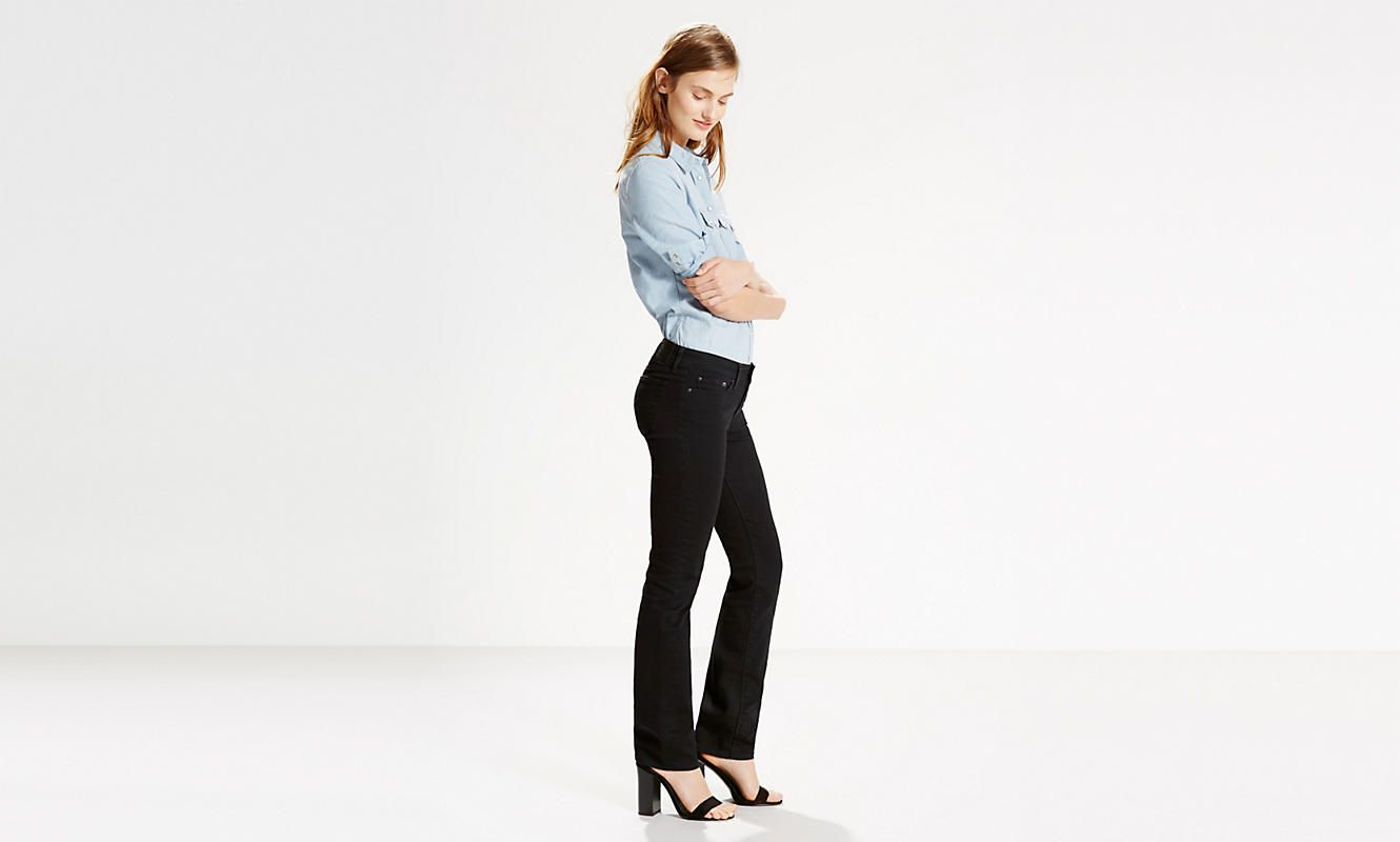 63432baa72e Levi s Women s 414 RELAXED STRAIGHT JEANS 198890001 Side