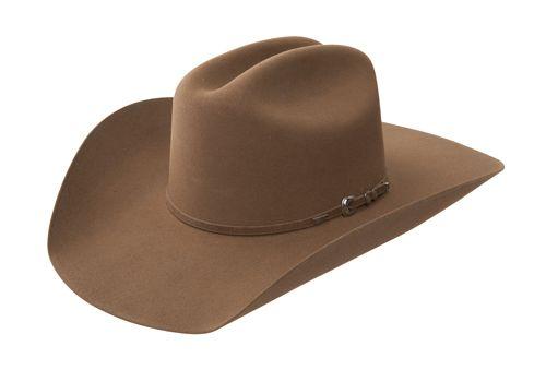 9a001865d17 Resistol 3X CHANDLER Resistol University Collection Felt Cowboy Hat