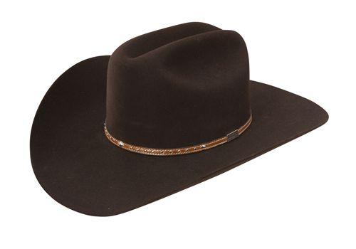 663ca59d0c3 Resistol 3X PARKER Resistol University Collection Felt Cowboy Hat