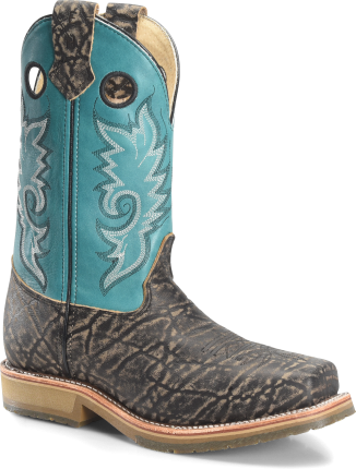 cbf6ff29461 Double H Boot Mens 12 In Domestic Wide Square Toe Comp ICE Roper DH3569