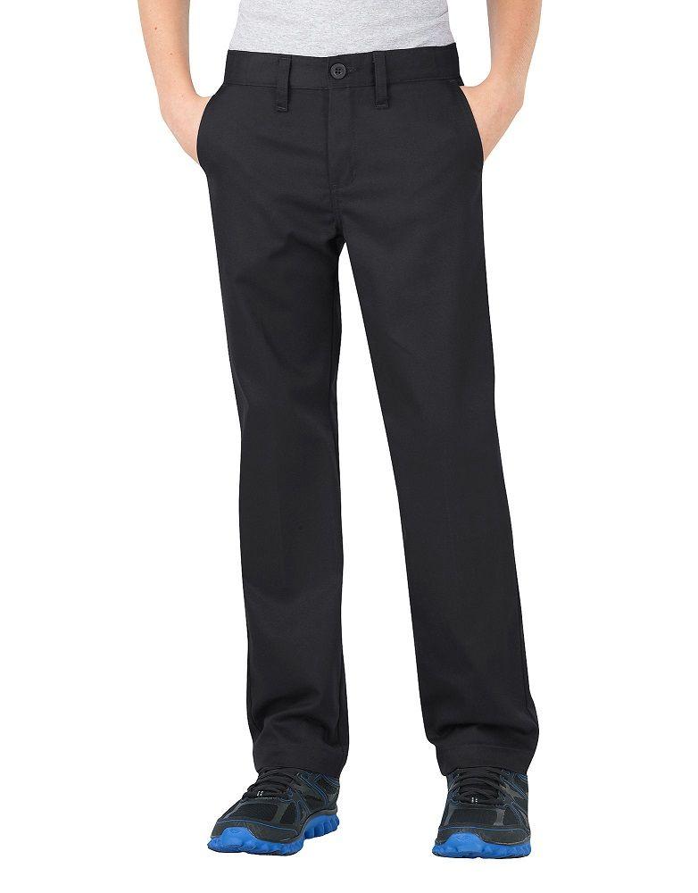 02b810015605e Dickies Boys FlexWaist® Slim Fit Straight Leg Ultimate Khaki Pant 8 ...