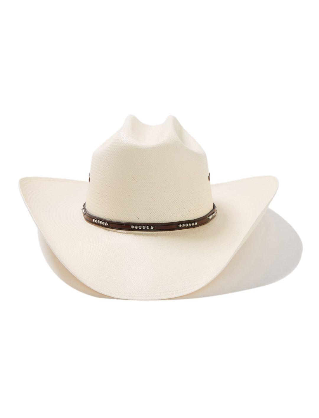 Stetson Men's Llano 10X Straw Cowboy Hat SSLLNO3042