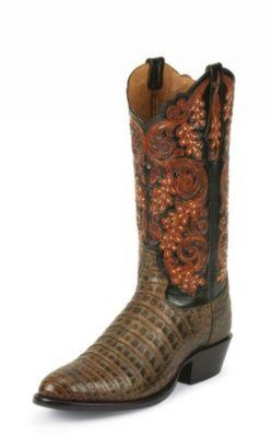 b21c34c5139 tony lama men s pecan belly antique signature series™ caiman ...
