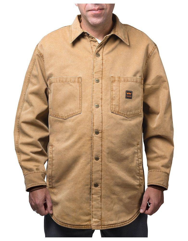 7762930b1 Walls Men's Vintage Duck Shirt Jacket YJ340