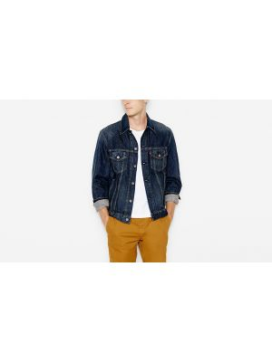 Levi's Men's THE TRUCKER JACKET (BIG & TALL) 071580004 Front