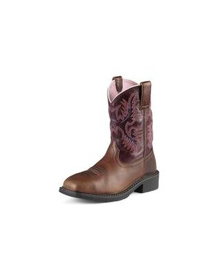 Ariat Women's Krista Pull-On Steel Toe Work Boot 10009494