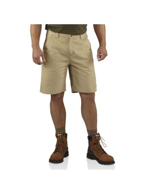 Carhartt Men's WASHED TWILL DUNGAREE SHORT 100245