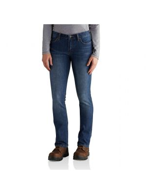 Carhartt WOMEN'S SLIM FIT LAYTON BOOTCUT JEAN 102736