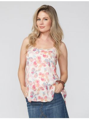 Stetson WATERCOLOR FLORAL TANK 11-052-0590-0432