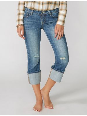 Stetson 816 Fit Cropped Jeans 11-054-0816-0089