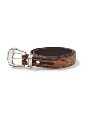 Stetson Kendrick Belt in Brown 1172S