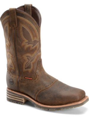 Double H Boot Mens 11 Inch Wide Square Comp Toe Ice Roper DH5124