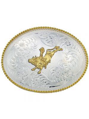 Montana Silversmiths 1350 Series Bull Rider Western Belt Buckle 1350-160