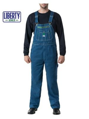 Walls Men's Liberty® Stonewashed Denim Bib Overall 14006