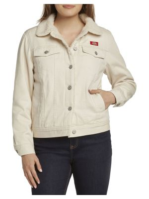DICKIES GIRL'S  Junior Sherpa Lined Denim Jacket J4008A
