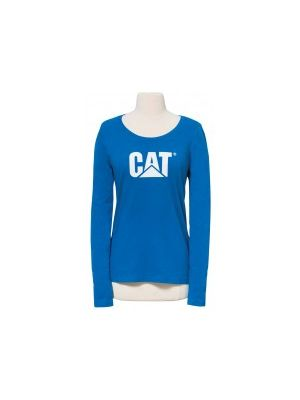 Cat Women's Signature Logo L/S Tee SLT001
