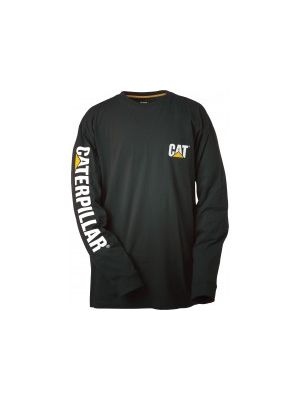 Cat Men's Trademark Banner L/S Tee TBT001
