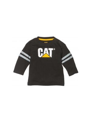 Cat Children's Infants L/S Logo Tee LT001