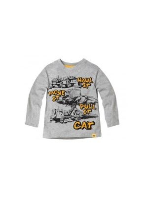 Cat Children's Move It L/S Tee MTLS01