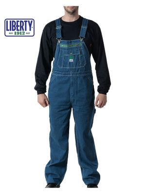 Walls Men's Liberty® Rigid Denim Bib Overall 18006