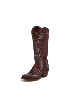 NOCONA WOMEN'S VAIL RED NL5033