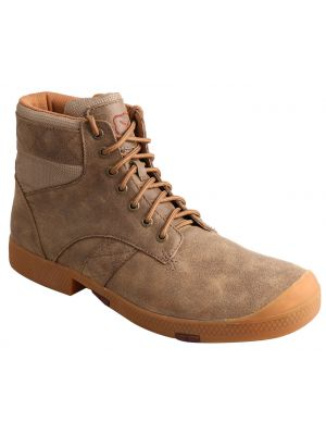Twisted X Men's Casual Lace-Up Boots - Round Toe 038C12