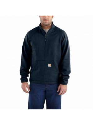 Carhartt Men's FLAME-RESISTANT FORCE FLEECE QUARTER-ZIP 101576