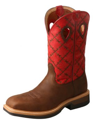 Twisted X Men's Lite Cowboy Western Work Boot 2000244629