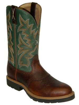 Twisted X Men's Saddle Vamp Pull-On Work Boots 050C24