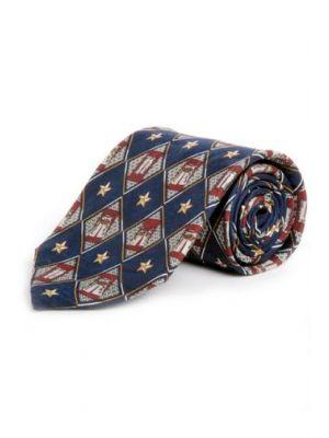 Circle S Men's Tie Chaps & Stars CST6700