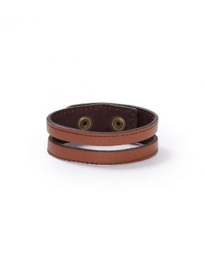 Stetson LEATHER CUTOUT WRISTBAND 9110S