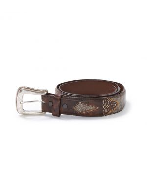 Stetson Graham Belt in Brown 3012R