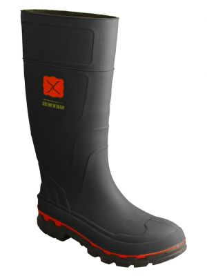 Twisted X Men's Black Rubber Boots 0502D8