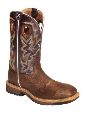 Twisted X Men's Lite Pull-On Work Boots 050C98