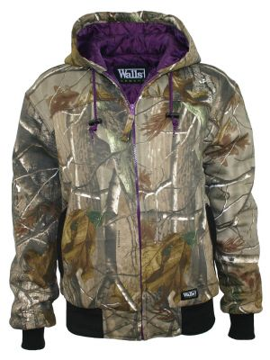 Walls Women's Hunting Insulated Quilted Fleece Hooded Jacket 35099
