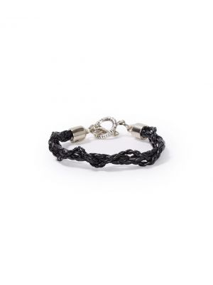 Stetson LEATHER BRAID WRISTBAND WITH TOGGLE 9102S