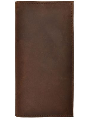 3D Dark Brown Basic Rodeo Wallet 3D-W1024