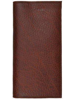 3D Dark Brown Basic Rodeo Wallet 3D-W1031