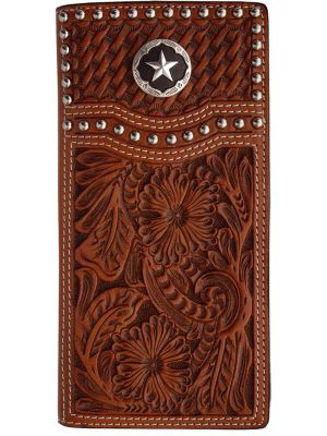 3D Natural Western Rodeo Wallet 3D-W283