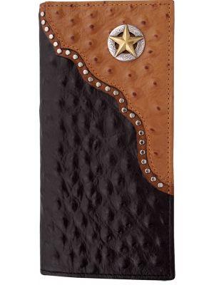 3D Black Western Rodeo Wallet 3D-W330