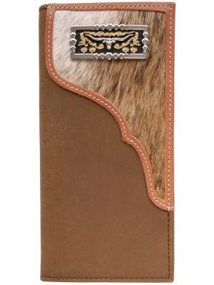 3D Brown Western Rodeo Wallet 3D-W422