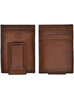 3D Brown Basic Money Clip 3D-W644